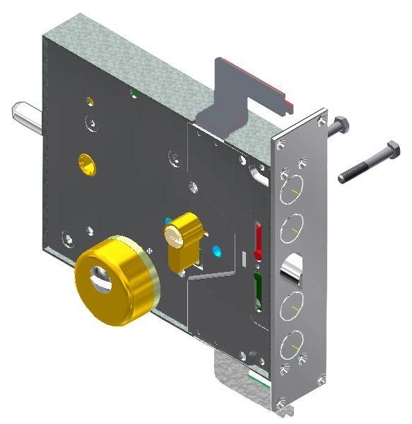 Potent serratura modello interno