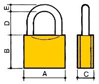 Potent serratura