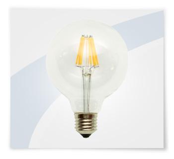 Potent illuminazione led a filamento globo