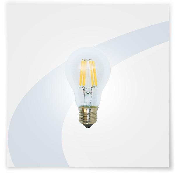 Potent illuminazione led a filamento goccia