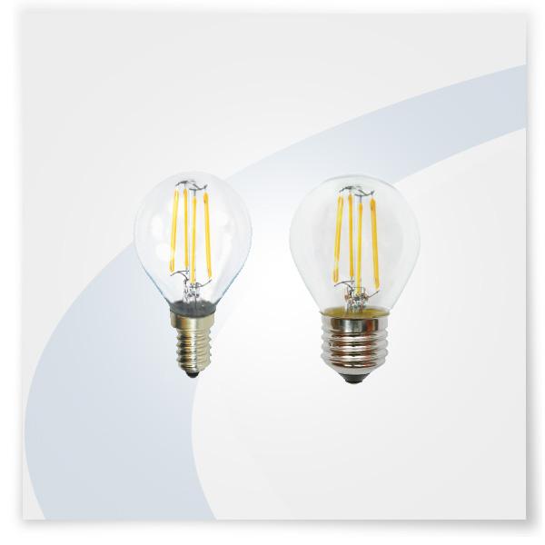 Potent illuminazione led a filamento mini globo