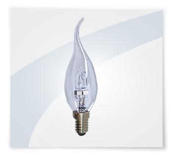 Potent illuminazione lampadine alogene a colpo di vento