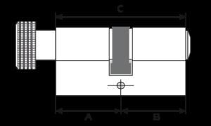 Potent serrature cilindro europeo mauer serie nw5