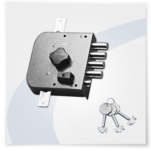 Potent serrature cilindro pompa serie s415