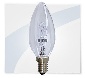 Potent illuminazione lampadine alogene a candela