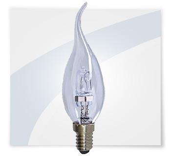 Potent illuminazione lampadine alogena a colpo di vento