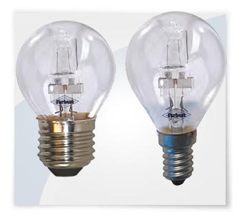 Potent illuminazione lampadine alogene a mini globo