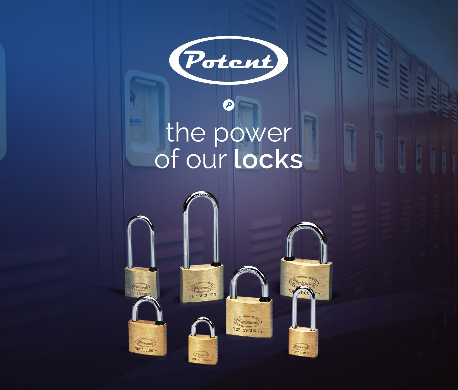 Potent locks