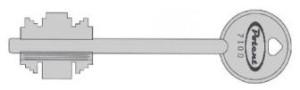 Potent serrature ad applicare serie 1700 serrature per porte blindate