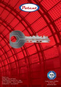 Cilindro con chiave da cantiere Mauer Elite 2 Red Line