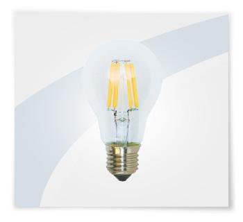 Potent illuminazione lampadine led a filamento goccia
