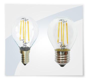 Potent illuminazione lampadine led a filamento mini globo