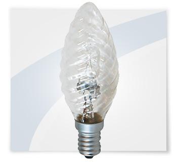 Potent illuminazione lampadine alogene a tortiglione