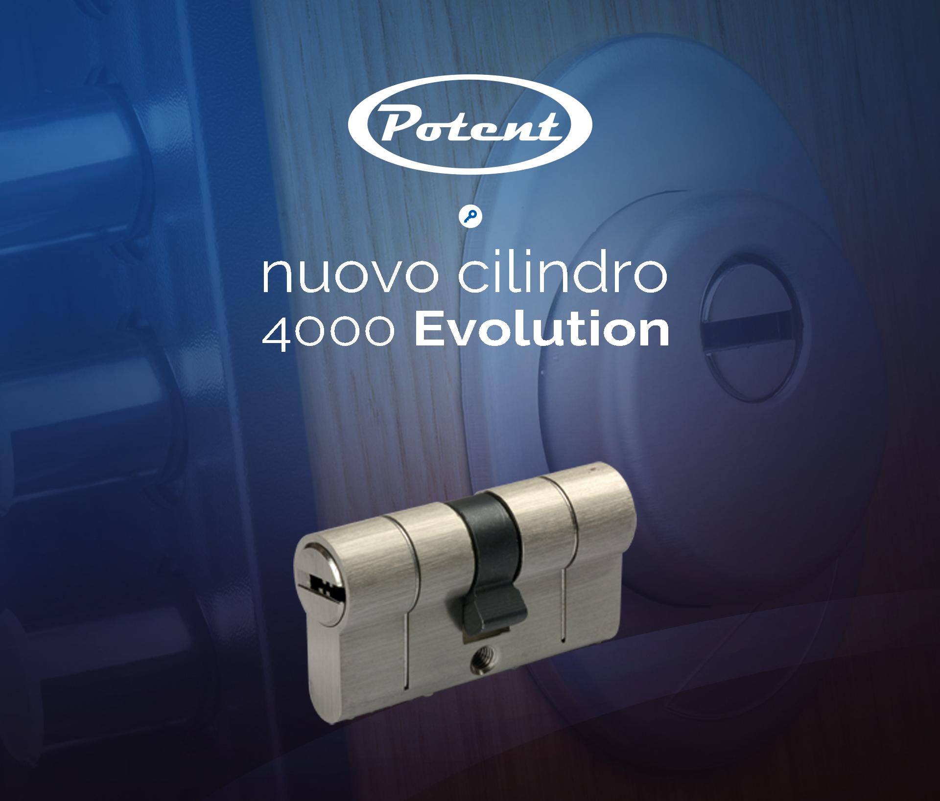 Potent nuovo cilindro 4000 evolution slider