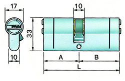 Potent cilindro europeo evolution 4000 c-1-6