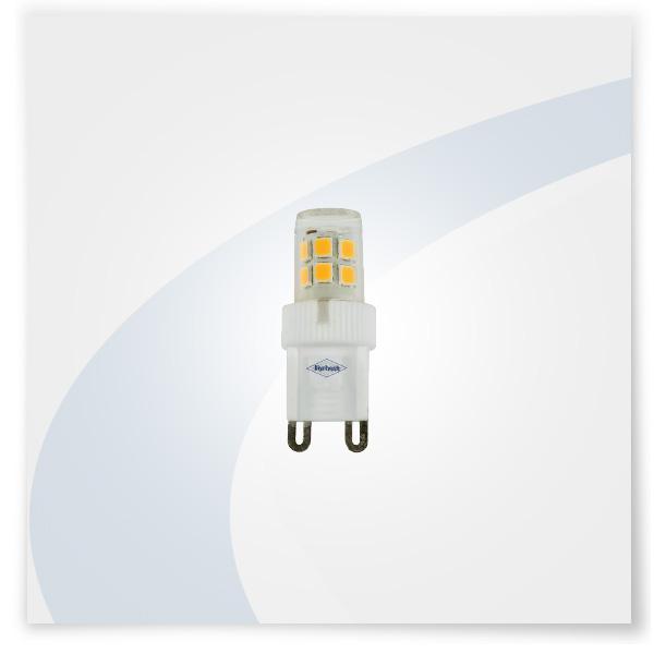 Potent illuminazione lampadina G9 2,3W ceramica
