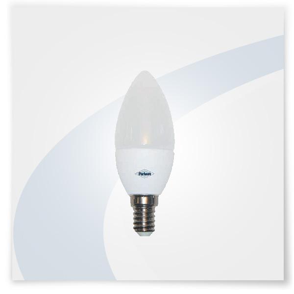 Potent illuminazione lampadina led a candela